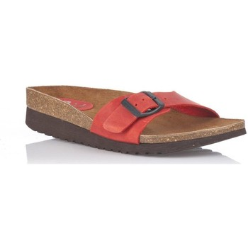 Chaussures Femme Mules Interbios 7111 Rouge