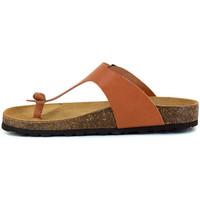 Chaussures Femme Tongs J.bradford JB-ABADIA CAMEL Marron