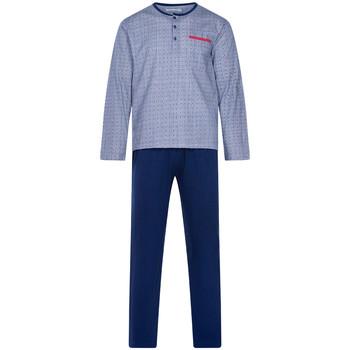 Vêtements Homme Pyjamas / Chemises de nuit Christian Cane - pyjama long Bleu marine