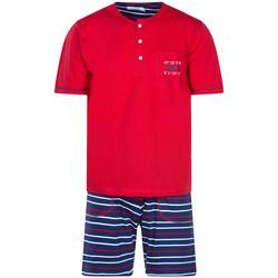 Vêtements Homme Pyjamas / Chemises de nuit Christian Cane - pyjama court Rouge