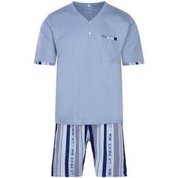 Vêtements Homme Pyjamas / Chemises de nuit Christian Cane - pyjama court Bleu ardoise