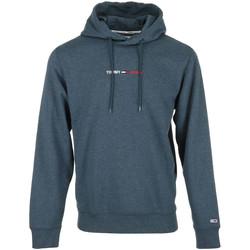 Vêtements Homme Sweats Tommy Hilfiger Straight Logo Hoodie bleu