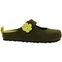 Chaussures Femme Sabots Soir & Matin BIOFLEUR Vert