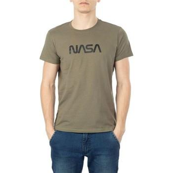 Vêtements Homme T-shirts manches courtes Nasa BIG WORM O NECK Vert
