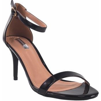 Chaussures Femme Sandales et Nu-pieds Bienve Cérémonie dame  1JB-19367 noir Noir
