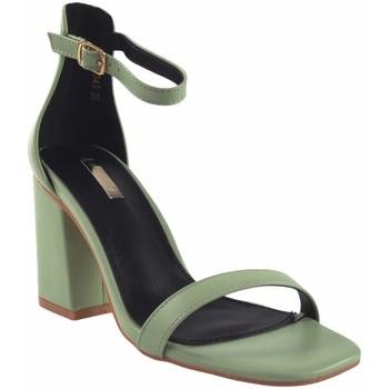 Chaussures Femme Sandales et Nu-pieds Bienve Cérémonie dame  1a-1031 vert Vert