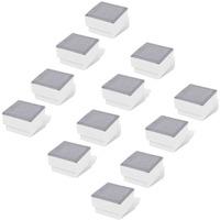 Maison & Déco Luminaires d'extérieur Vidaxl 100 x 100 x 68 mm Blanc