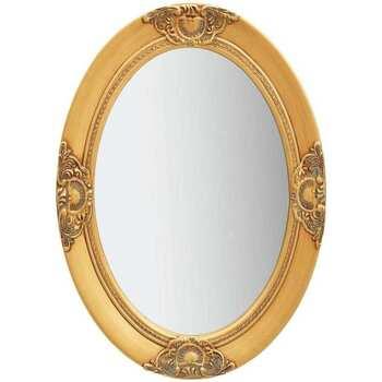 Maison & Déco Miroirs Vidaxl 50 x 70 cm Or
