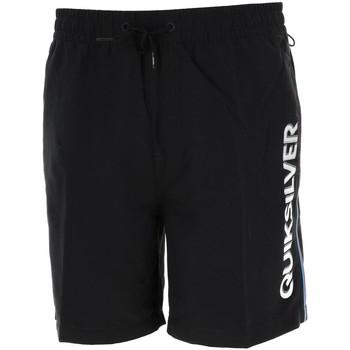 Vêtements Garçon Maillots / Shorts de bain Quiksilver Vert volley 14 blk short bain jr Noir