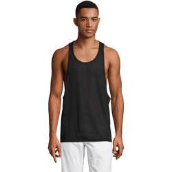 Vêtements Homme Débardeurs / T-shirts sans manche Sols Jamaica camiseta sin mangas Negro
