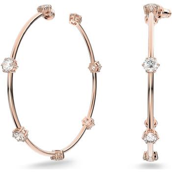 Montres & Bijoux Femme Boucles d'oreilles Swarovski Créoles  Constella Rose