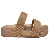 Chaussures Femme Mules Cendriyon Sandales Bronze Chaussures Femme Bronze