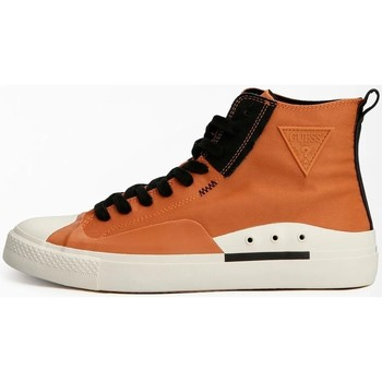 Chaussures Homme Baskets montantes Guess FM7EHNFAB12 sneakers Brown