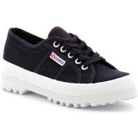 Chaussures Femme Baskets basses Superga alpina ox coton Bleu