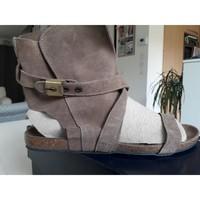 Chaussures Femme Sandales et Nu-pieds Scholl Sandales SCHOLL cuir 39 Marron