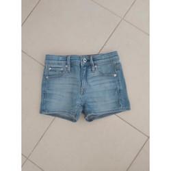Vêtements Fille Shorts / Bermudas G-Star Raw Short Gstar Raw fille 8 ans comme neuf Bleu