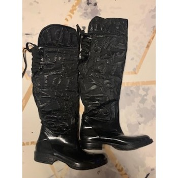 Chaussures Femme Bottes ville Miss Sixty Bottes Miss sisty Noir