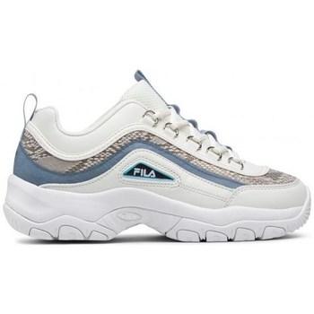 Chaussures Femme Baskets basses Fila Strada A Wmn Blanc, Doré