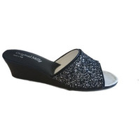 Chaussures Femme Mules Original Milly CHAUSSON DE CHAMBRE MILLY - 104 NOIR Multicolor
