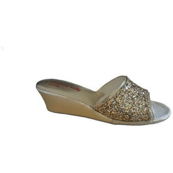 Chaussures Femme Mules Original Milly CHAUSSON DE CHAMBRE MILLY - 104 OR Doré