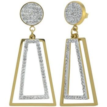 Montres & Bijoux Femme Boucles d'oreilles Sc Crystal B2746-DORE+E000 Doré