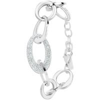 Montres & Bijoux Femme Bracelets Sc Crystal B2748 Argenté