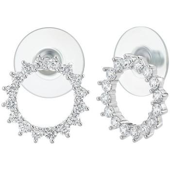 Montres & Bijoux Femme Boucles d'oreilles Sc Crystal B2754+E000 Argenté