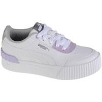 Chaussures Enfant Baskets basses Puma Carina Lift Shine PS Blanc