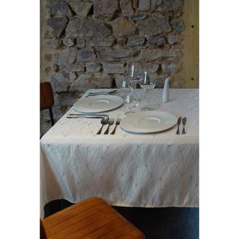 Maison & Déco Nappe 1001Kdo Pour La Maison Nappe 145x350cm Facette blanc