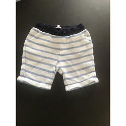 Vêtements Garçon Shorts / Bermudas Carrément Beau Short carrément beau Blanc