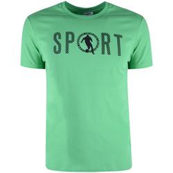 Vêtements Homme T-shirts manches courtes Bikkembergs  Vert
