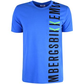 Vêtements Homme T-shirts manches courtes Bikkembergs  Bleu