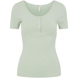 Vêtements Femme T-shirts manches courtes Pieces 17101439 vert