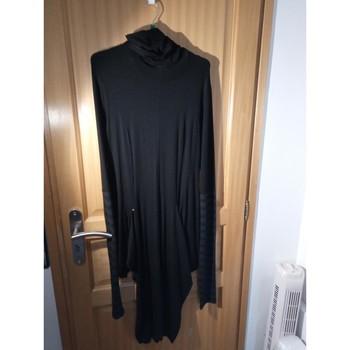 Vêtements Femme Robes longues Cop Copine ROBE LONGUE PRES DU CORPS Noir
