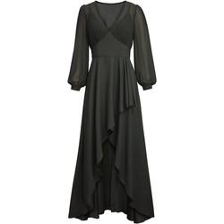Vêtements Femme Robes longues Chic Star 86210 Noir