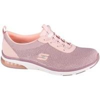 Chaussures Femme Baskets basses Skechers Skechair Edge Rose