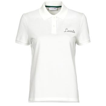 Vêtements Femme Polos manches courtes Lacoste PF7251 Blanc