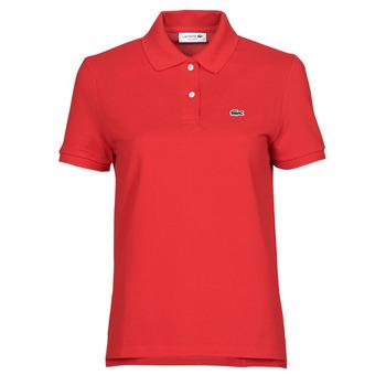 Vêtements Femme Polos manches courtes Lacoste POLO REGULAR FIT PF7839 Rouge