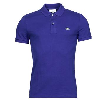 Vêtements Homme Polos manches courtes Lacoste POLO SLIM FIT PH4012 Bleu Roi