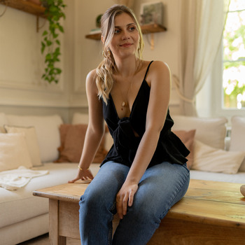 Vêtements Femme Tops / Blouses Céleste LAVANDIN Noir