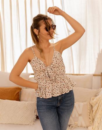 Vêtements Femme Tops / Blouses Céleste LAVANDIN Ecru