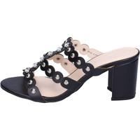 Chaussures Femme Mules Silvian Heach BH155 Noir
