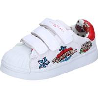 Chaussures Fille Baskets basses Silvian Heach BH156 Blanc
