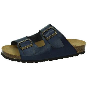Chaussures Femme Mules Biobio  Bleu