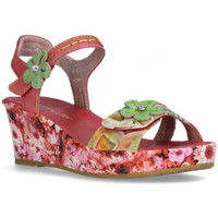 Chaussures Femme Sandales et Nu-pieds Laura Vita Sandale facdiao 2621 rouge