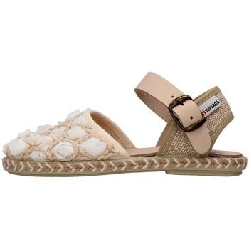 Chaussures Fille Sandales et Nu-pieds Superga S07R937 BLANC