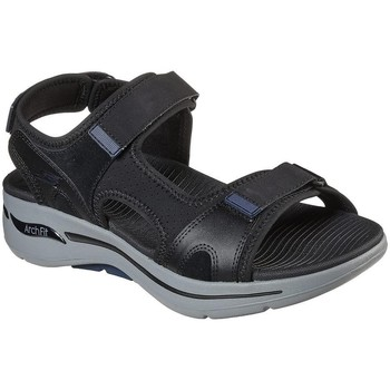 Chaussures Homme Sandales et Nu-pieds Skechers GO WALK ARCH FIT SANDAL MISSION NEGRA Sandalias