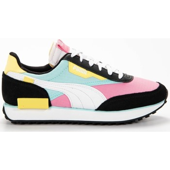 Chaussures Fille Baskets basses Puma Future rider play on jr Multicolore