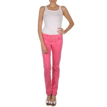 Pantalons Gant DANA SPRAY COLORED DENIM PANTS Rose 350x350