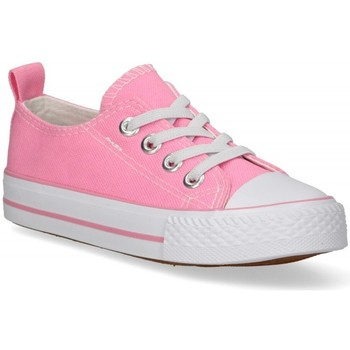 Chaussures Fille Baskets basses Luna Collection 57725 rose